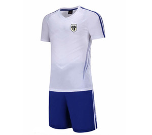 20 21 New Angers SCO Football Jersey Kids Soccer Training Set Soccer Pant Adult Outdoor Sportswear Summer Suits