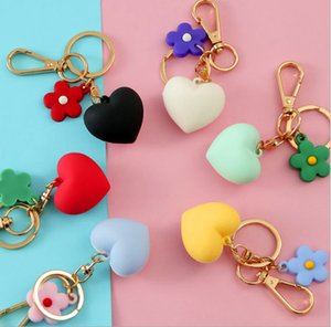 Lovers cartoon love key chain Pendant creative little gift lovely key ring creative custom key chain