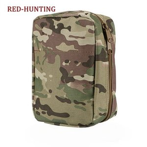 Multicam Tactical Molle Belt Medical EMT First Aid Pouch Bag EDC Outdoor Hunting Airsoft Pack Y200920