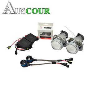 3.0 inch hella 5 car Bi xenon hid Projector lens car assembly kit with AC xenon kit ballast D2S bulb conversion Modify