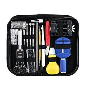 Kit Metal Watchmaker Tools 147 Pcs Watch Repair Tool Kit Case Opener Link Spring Bar Remover Watch For Adjustment Set