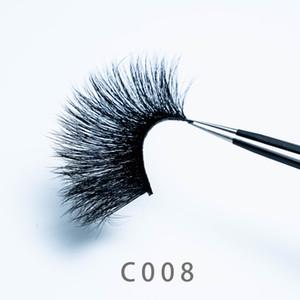 [Mink False Eyelashes-C008]Beautiful mink eyelashes set can be customized logo professional women eye makeup tools