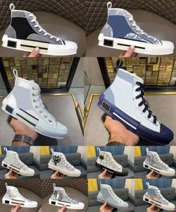 2020 chaussures décontractées broderie toile technique chaussures de haut en haut femmes femmes hommes populaires robe oblique robe Chaussures entraîneurs sport chaussures de sport
