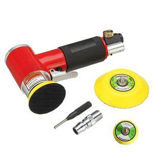 Mini Air Sander Polisher Eccentric type Polishing Waxing Polisher Car Accessories #YL1