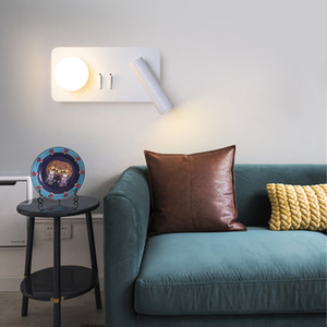 LED wall lamp 240V 15CM acrylic wall lamp 240V white light warm light bedroom aisle and other spotlights