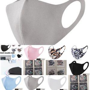 FactoryDOQQnose reusable Mask Mouth protection cotton face Adult washable fashion Anti-dust masks dust proof DHL fast de