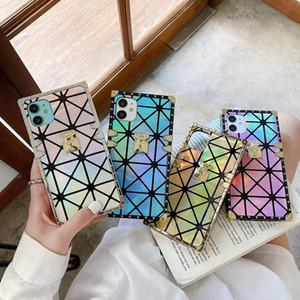 Yeni Moda Dazzle Renk Telefon Kılıfı Için iPhone 12 12 Pro Max XS XR XSMAX 7 / 8Plus En Kaliteli Özel Tasarımcı Lüks iPhone 11 Pro