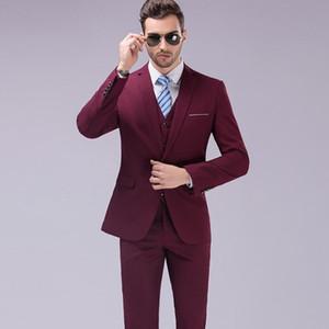 Abiti da uomo Blazers Plus Size 5xL 2021 Mens Groom da sposa 3 pezzi (giacca + giubbotto + pantalone) Slim fit tuxedo vestito maschio