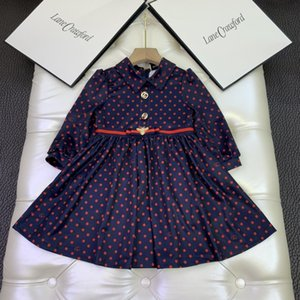 top quality kids clothes girls dresses autumn winter dress children party dress free shipping6WXS