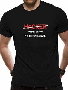 Hacker Security Professional shirt Presente engraçado Programador