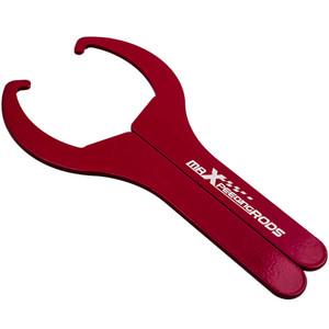Высокое качество ключ 2PCS Adjustment Сталь гаечный ключ для Performance Aftermarket Coilover быстро грузить красный