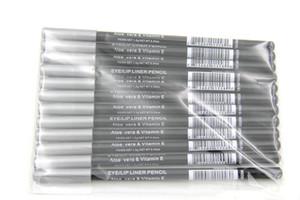 120pcs MIX EYE LIP Liner Pencil Aloe & Vitamin E 1.6g 12 color Eyeliner Pencil Free shipping