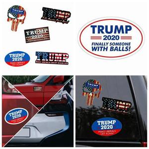 Trump Car Reflective Stickers Make America Great Again 2020 Trump Stickers American President Donald Trump Car Banner Sticker