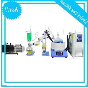 Zoibkd escala de laboratório pequeno caminho 5l curto alcance kit de destilação kit de reposição de aquecimento de agitação uma batida de chillervacuum