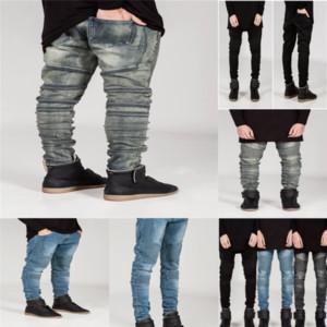 8Pe Hot Mens Casual Jeans Men New Skinny Jeans Fashion Biker Denim kid Skinny Pants short jeans for Overall Patchwork