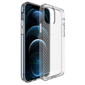 Guangzhou Juropin For Cross Pattern Crystal Clear TPU Soft Case For iPhone 12 Pro Max Ultra Slim Fit Lightweight Mobile Phone Cover