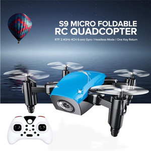 Mini Drone With HD 0.3mp Camera Foldable RC Helicopter aerial Wifi FPV Pocket Dron RC Quadcopter Toys for Christmas Gift