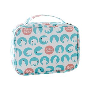 Hook cosmetic bag cotton cloth business trip washing bag suspension type multifunctional cosmetic