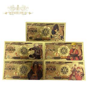 محفظة 5pcs الكثير 2020 اليابان جديد منتديات البنكنوت ناروتو البنكنوت الين البنكنوت المال للمجموعة محفظة 5pcs الكثير 2020 bbyuOh bde_luck