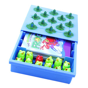 Frog The Peg Solitaire Jumping Board Game Children Intellect Chess Toys Game