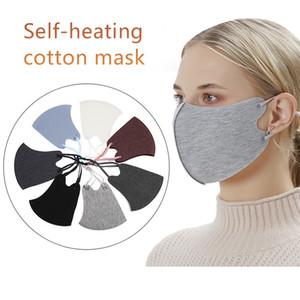 Nueva cálidos Diseñador Máscaras invierno gruesa cara correa ajustable unisex de la manera Mujeres Hombres a prueba de viento del polvo anti Máscara Máscara de ciclo al aire libre FY9271
