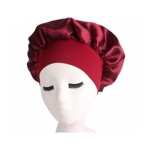 Women Bonnet Chemo Cap Designer Durag Hats Durags Muslim Satin Breathable Bandana Sleeping Turban Hat Womens Headwr wmtzBh new_dhbest