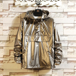 New Reflective Jacket Men Streetwear Bomber Jacket Mens Hip Hop Jackets Fashion Hooded Coats Male Baseball Jackets Clothes 5XL1