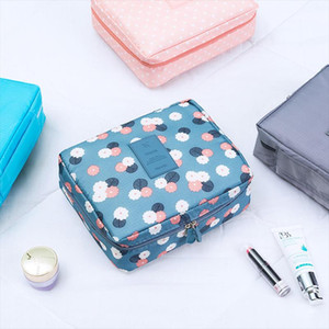 Womens Travel Cosmetic Bags Beautician Vanity Necessary Pouch Toiletry Wash Bra Underwear Makeup Case Organizer Accessories Mohkb