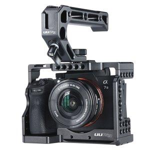 Uurig C-A73 Kamerakäfig für Sony A7III A7R3 A7M3 Standard-Arca-Stil-Schnell-Freigabeteller mit Top-Griff-Griff Sony A7III Q0112