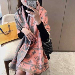 2020 winter pashmina shawl for women Fashion Brand Scarves Men Women Cashmere Scarf Design Wool Shawls Wraps Scarfs 65x180cm
