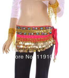 FREE SHIPPING belly dance waist chains Double row gem , dance hip scarf clothes,8 colors