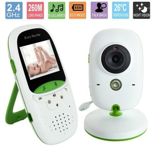 2.0 inch Wireless baby monitor with camera Video electronic Security VB602 2 Talk Nigh Vision IR LED Temperature Monitoring1