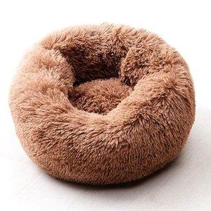 Willstar Собачья кровать зимние теплые длинные плюшевые спальные кровати Solid Color мягкие домашние собаки кота кота Coushion Dropshipping 201120