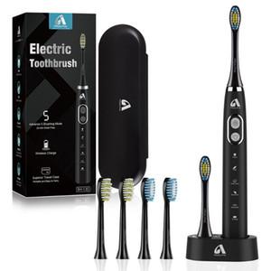 Cepillo de dientes Cepillo de dientes eléctrico acústico proALPHA BH-130 automático para adultos recargable IPX7 cepillo impermeable para llevar de viaje para adultos