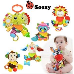 Autorizado auténtico SOZZY 7 Designs Multi Function Bell Bell Baby Cuna Cuna Cochecito Juguete Colgante 201221