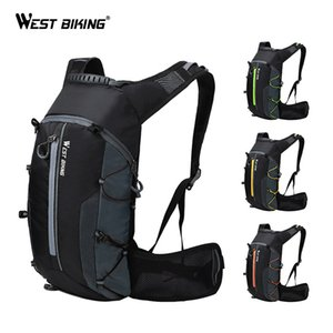 WEST BIKING Bike Bag Waterproof Outdoor Sports 10L Portable Foldable Cycling Backpack Hiking Climbing Bicycle Backpack 201117