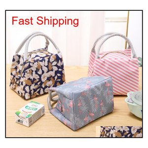 Waterproof Lunch Bags Tote Portable Lunch Box Bag Kitchen Zipper Storage Bags For Outdoor Travel Picnic Therm qylSpk bde_luck