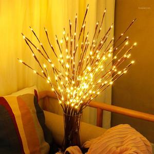 크리스마스 장식 Leeiu 20 전구 버드 나무 분기 Led 가벼운 장식 홈 나비다드 크리스마스 트리 연도 파티 용품 1