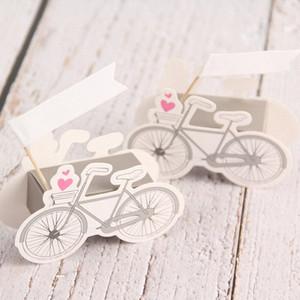Forme de bicyclette Boîte de papier Cartoon vélo mariage anniversaire papier célébration Faveur Candy Box Party boîte-cadeau baby shower BpI8 #