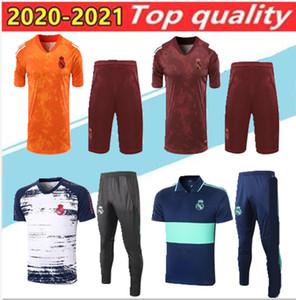рубашки поло 2020 Реал Мадрид футбол трикотажные рубашки поло спортивный костюм брюки 19 20 21SERGIO RAMOS Бензема Модрич ISCO тюка футбол рубашки поло