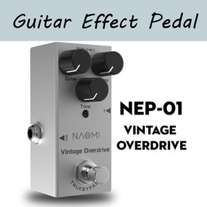 NEP-01 Guitar Effect Pedal Vintage Overdrive Effect DC 9V True Bypass For Electric Guitar