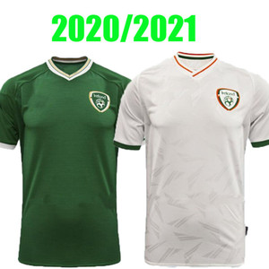 20 21 Irlanda Jersey Soccer Jersey 2020 2021 Brady Hendrick Duffy Doherty Repubblica Da Doherty of Ireland National Team Men Kit Kit Hearhane Camice da calcio