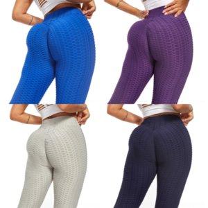 GBFJ Mujeres Yoga Pantalones de cintura alta Cadera de elevación Mujer Pantalón de yoga Petite Petite Transpirable Fit Slim Tamaño