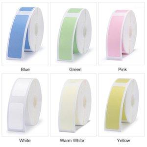 Printers Label Printer D11 Supermarket Waterproof Anti-Oil Tear-Resistant Price Pure Color Scratch-Resistant Paper Roll1