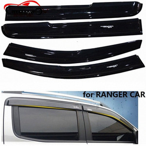 CITYCARAUTO RANGER أسود AWNINGS SHELTERS WINDOWS SUN VISOR FIT FOR RANGER T6 T7 XTL 2012-2017 PICKUP CAR nGYz #