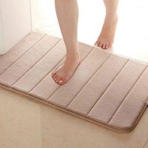 40 * 60 см Коврик для ванной комнаты с горизонтальной полосой абсорбирующей нескользящей ванной комната для ванной комнаты для ванной набор