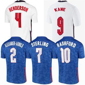 Мужчины + Kids Kits Sancho Rashford Soccer Jersey E 2020 2021 Стерлингов Kane NGLAND 20 21 Футбол Мужчины Женщины Детские Рубашки Kit Тетрики Униформа 4XL