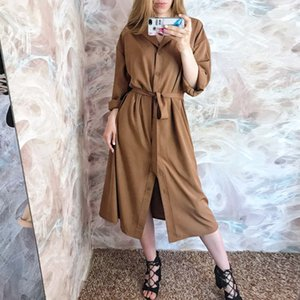 Spring Summer Women Blouses Casual Loose Long Shirts Lady Tops Blusas Fashion Female Batwing Sleeve Solid Shirt Dress Lady Y200930