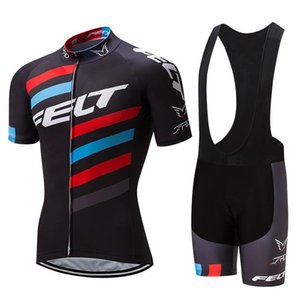 Nuovo 2019 Felt Pro Cycling Jersey della bici breve Set Mtb Ropa Ciclismo Pro Cycling Wear Mens Bicicletta Maillot Culotte