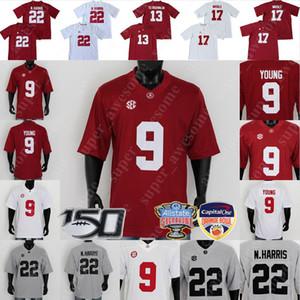 NCAA Alabama Crimson Tide Football Jersey Brian Robinson JR John Metchie III Miller Forristall Patrick Surtain II Trey Sanders Diylan Моисей